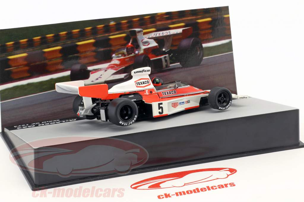 E. Fittipaldi McLaren M23 #5 champion du monde Espagne GP formule 1 1974 1:43 Altaya