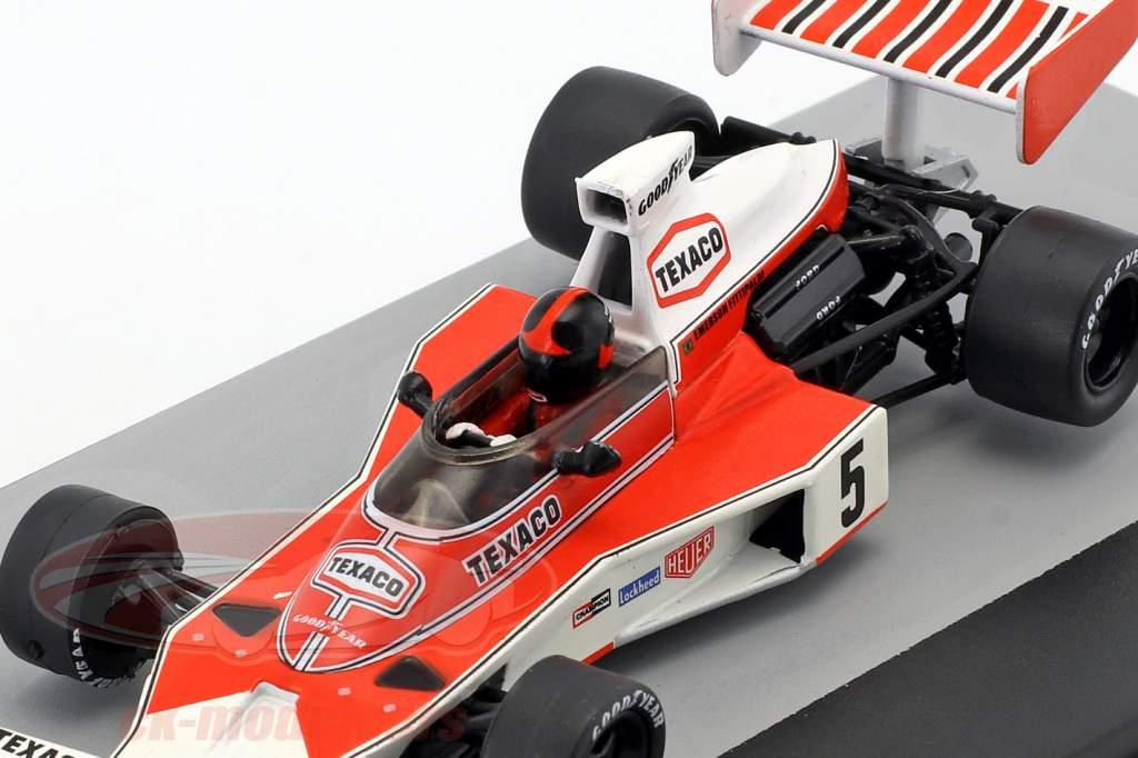 E. Fittipaldi McLaren M23 #5 campeón del mundo España GP fórmula 1 1974 1:43 Altaya