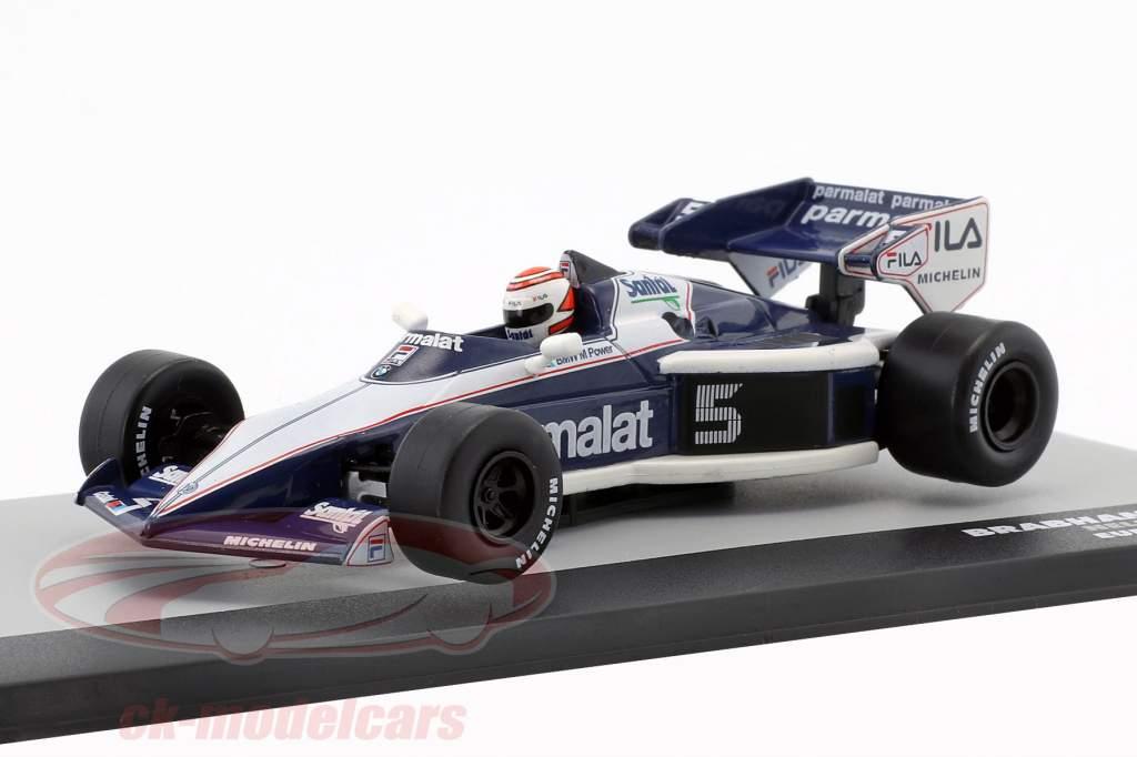 N. Piquet Brabham BT52B #5 Campeón del Mundo Europa GP Fórmula 1 1983 1:43 Altaya