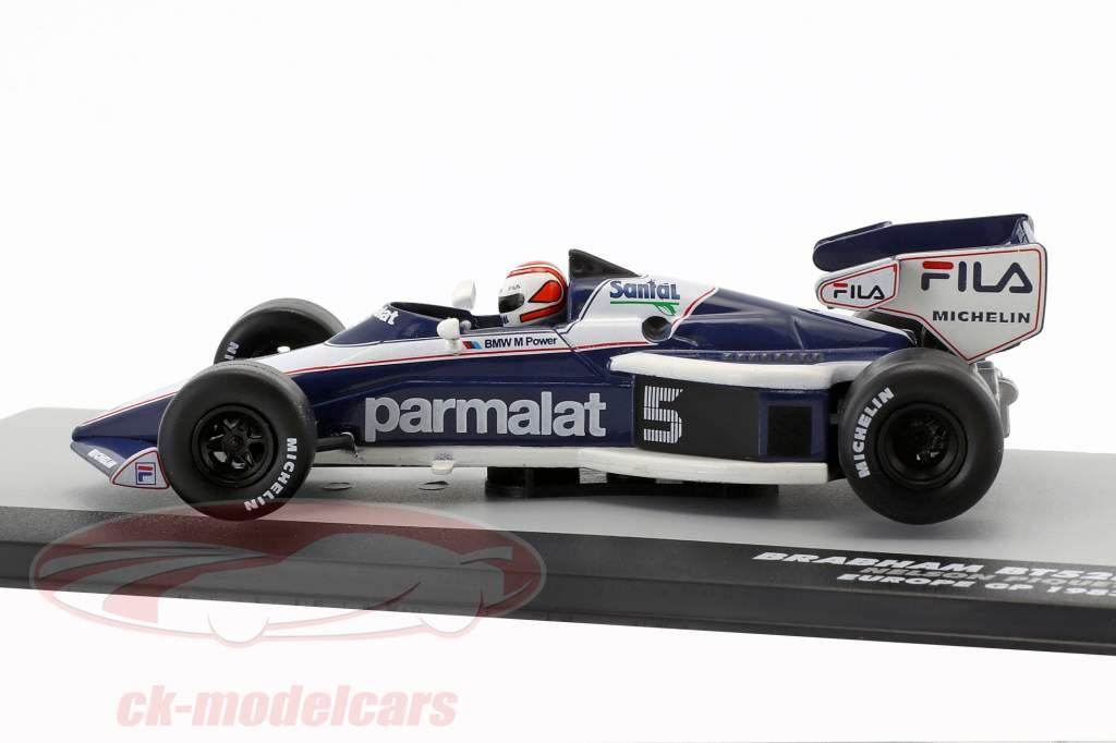 N. Piquet Brabham BT52B #5 Wereldkampioen Europa GP Formule 1 1983 1:43 Altaya