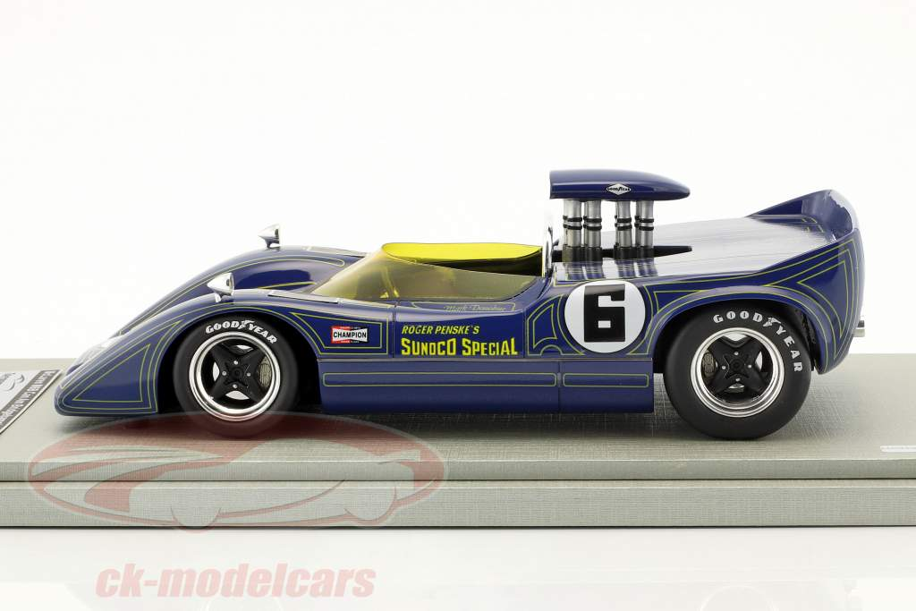 McLaren M6B #6 gagnant Bridgehampton GP Can-Am Series 1968 Mark Donohue 1:18 Tecnomodel