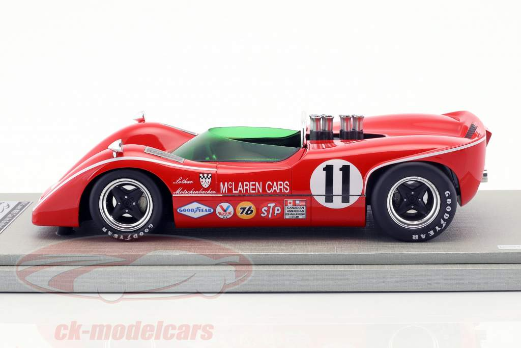 McLaren M6B #11 3ª Bridgehampton GP Can-Am Series 1968 Lothar Motschenbacher 1:18 Tecnomodel