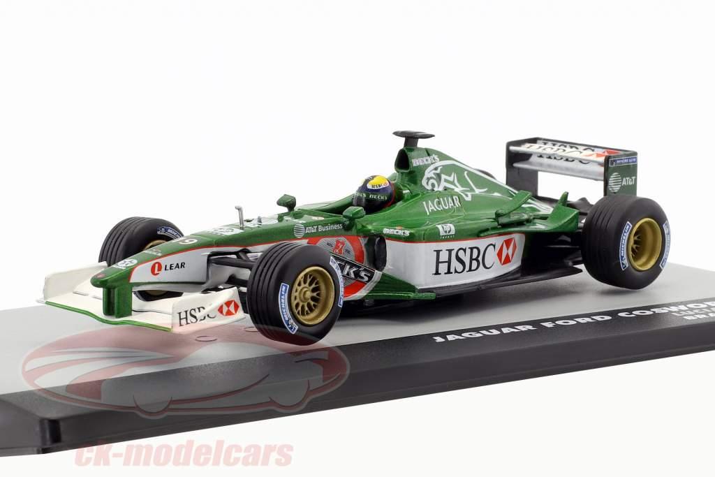 Luciano Burti Jaguar R2 #19 Brazilië GP formule 1 2001 1:43 Altaya