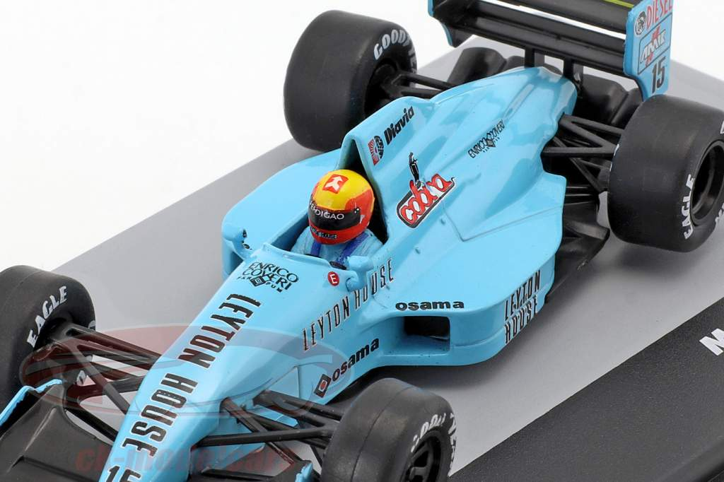 Mauricio Gugelmin March Judd 881 #15 Italy GP Formula 1 1988 1:43 Altaya