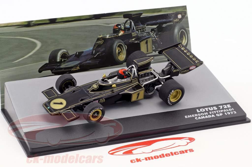 Emerson Fittipaldi Lotus 72E #1 2e Canada GP formule 1 1:43 Altaya