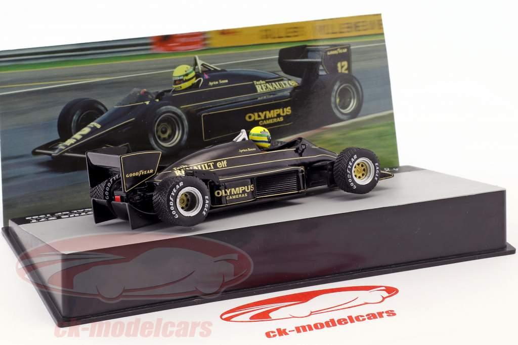 Ayrton Senna Lotus 97T #12 ganador Portugal GP fórmula 1 1985 1:43 Altaya