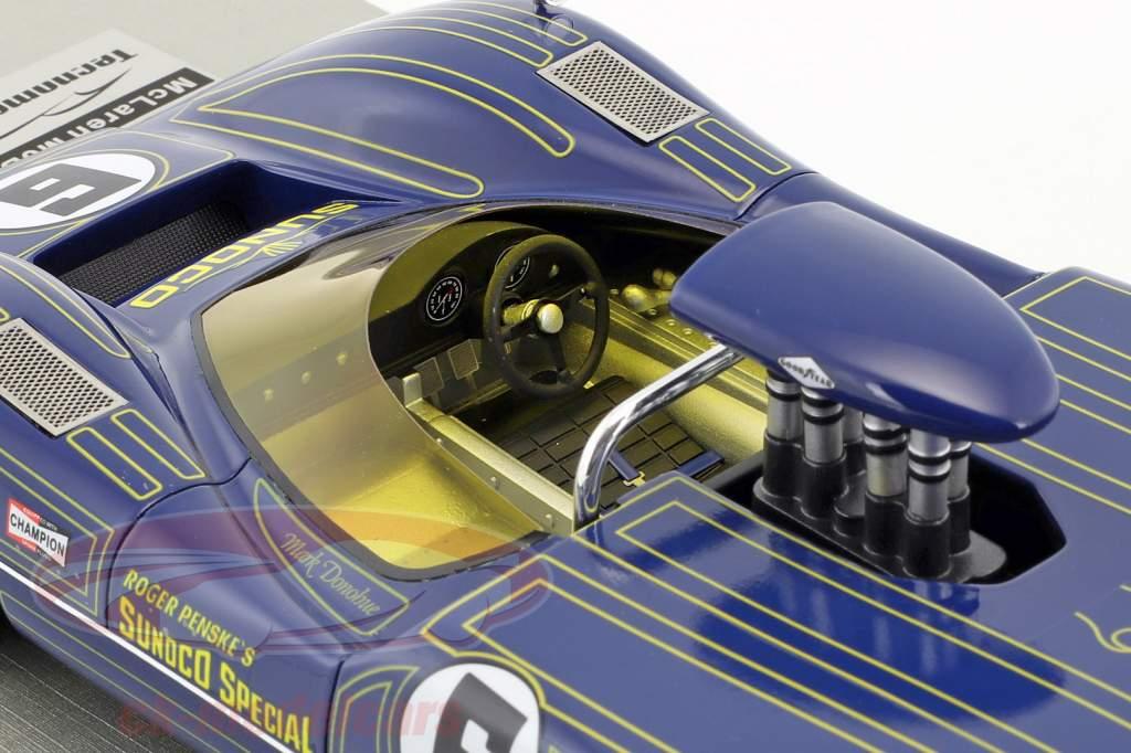 McLaren M6B #6 Winner Bridgehampton GP Can-Am Series 1968 Mark Donohue 1:18 Tecnomodel
