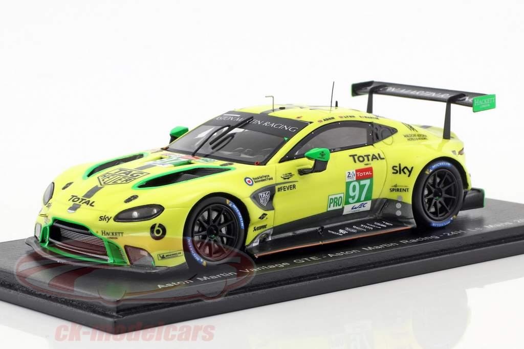 Aston Martin Vantage GTE #97 24h LeMans 2018 Lynn, Martin, Adam 1:43 Spark