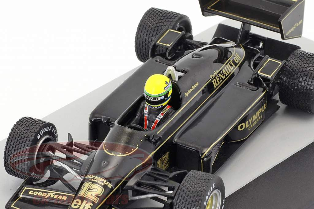 Ayrton Senna Lotus 97T #12 Vinder Portugal GP formel 1 1985 1:43 Altaya