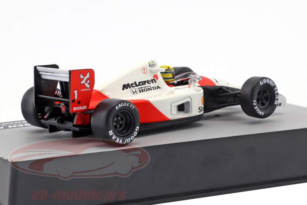 Ayrton Senna McLaren MP4/6 #1 wereldkampioen Duitsland GP formule 1 1991 1:43 Altaya