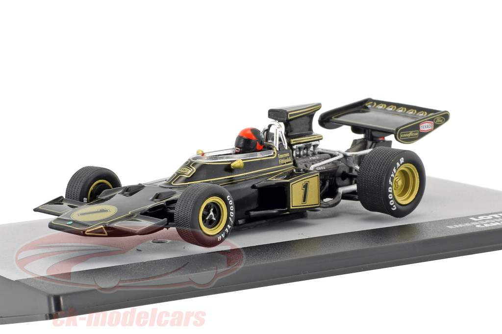 Emerson Fittipaldi Lotus 72E #1 2nd Canada GP formula 1 1973 1:43 Altaya