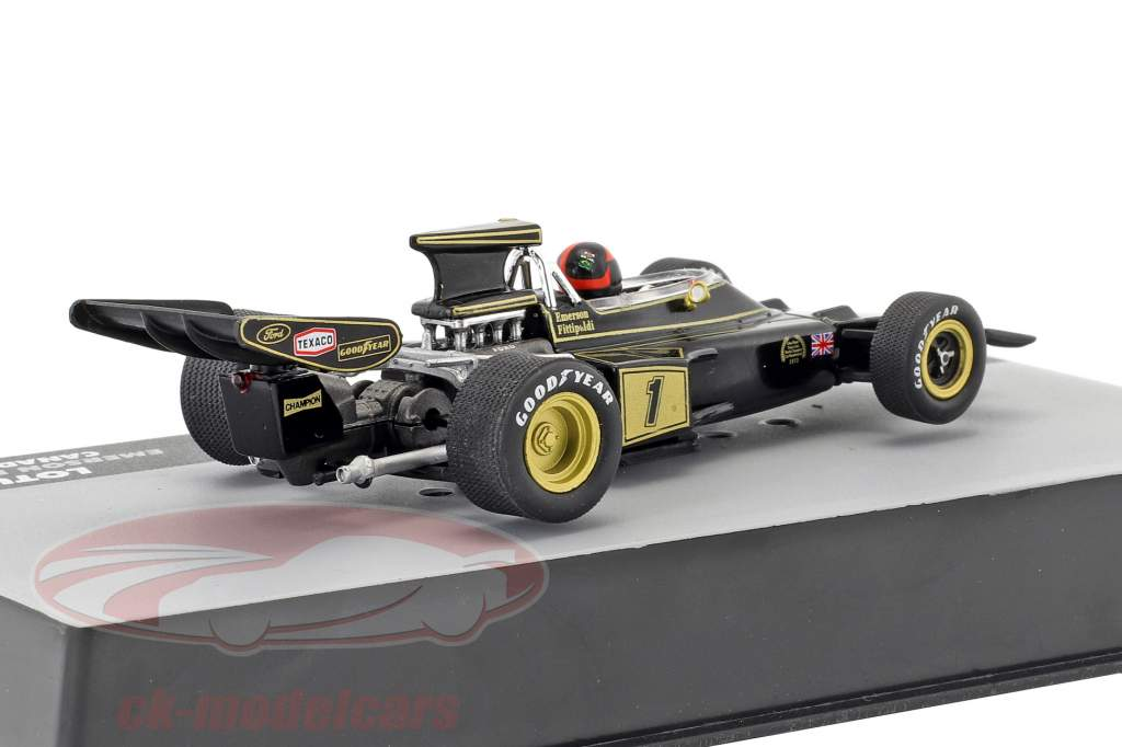 Emerson Fittipaldi Lotus 72E #1 segundo Canadá GP fórmula 1 1:43 Altaya