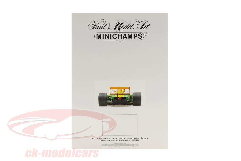 Minichamps Katalog Edition 1 2019