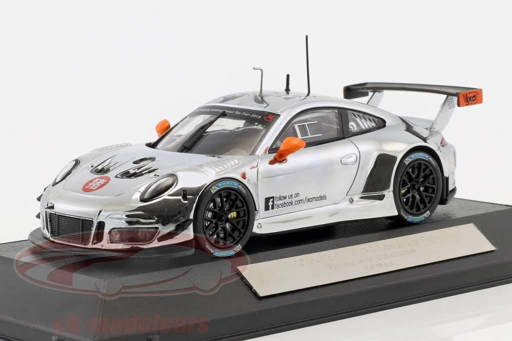 "Porsche 911 GT3 R ""Year of the Pig"" Spielwarenmesse Nürnberg 2019 Ixo"