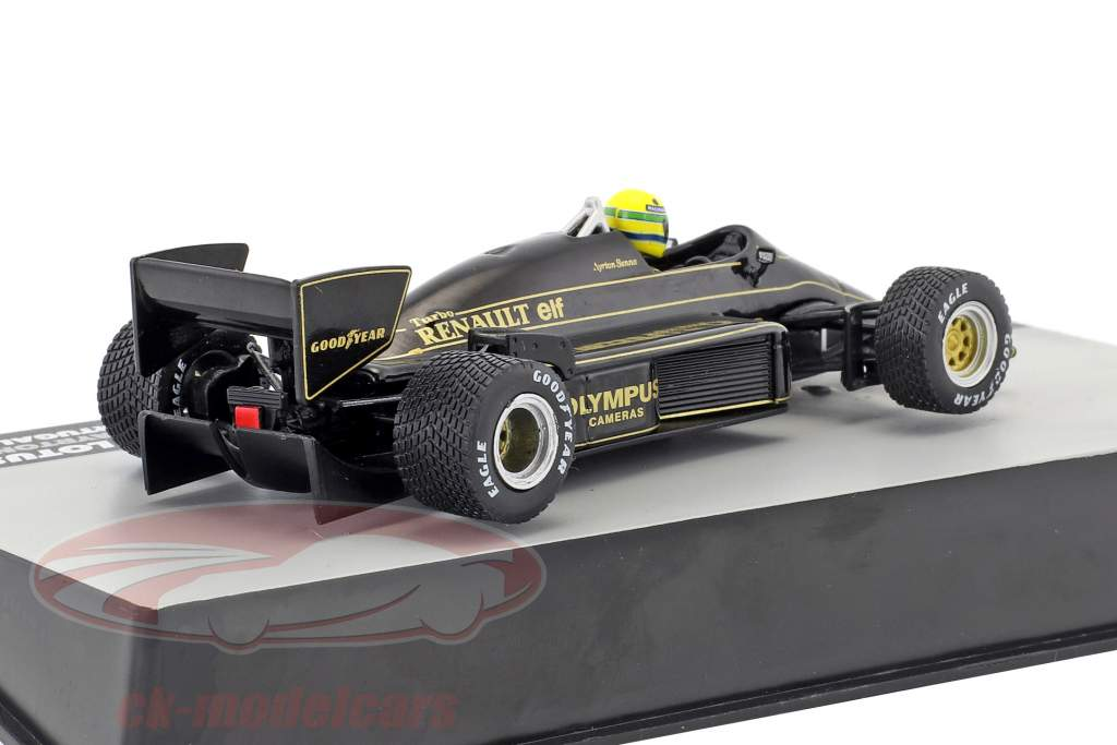 Ayrton Senna Lotus 97T #12 gagnant Portugal GP formule 1 1985 1:43 Altaya