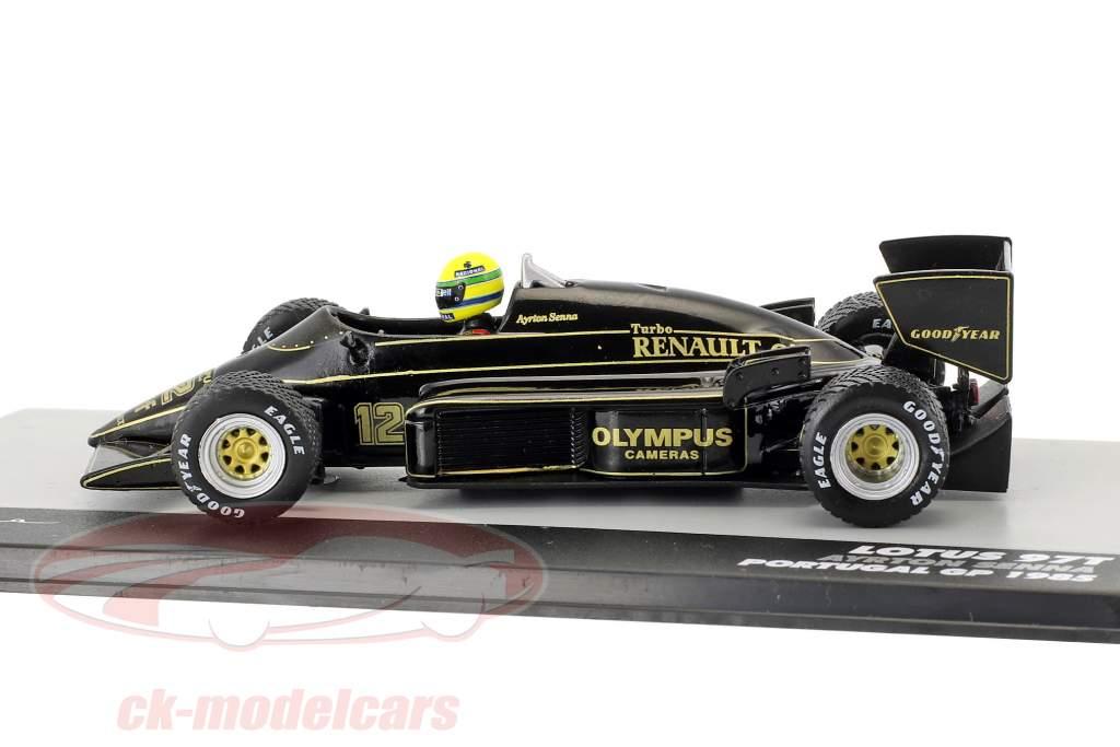 Ayrton Senna Lotus 97T #12 vincitore Portogallo GP formula 1 1985 1:43 Altaya