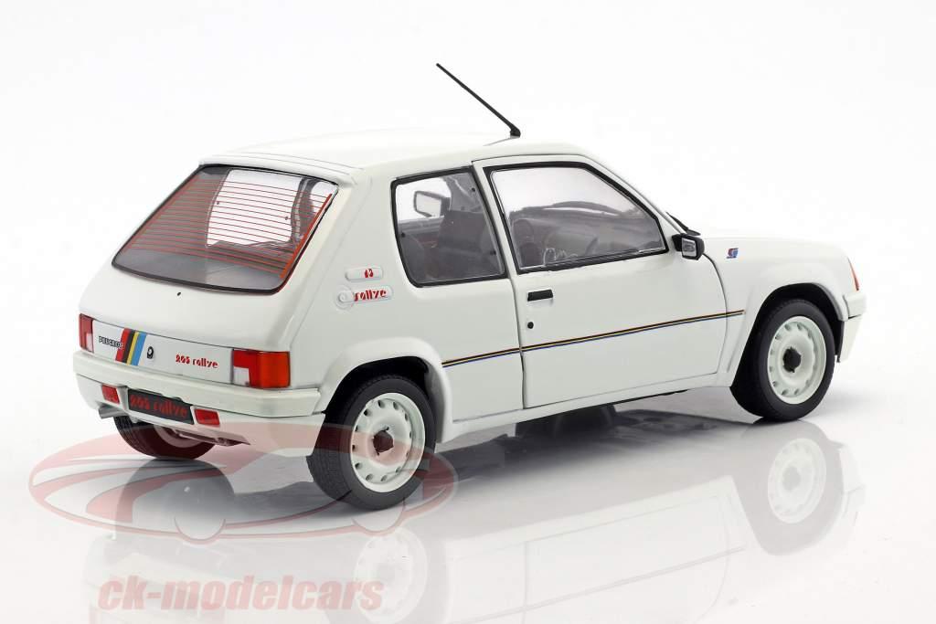 Peugeot 205 Rallye MK1 année de construction 1988 blanc 1:18 Solido