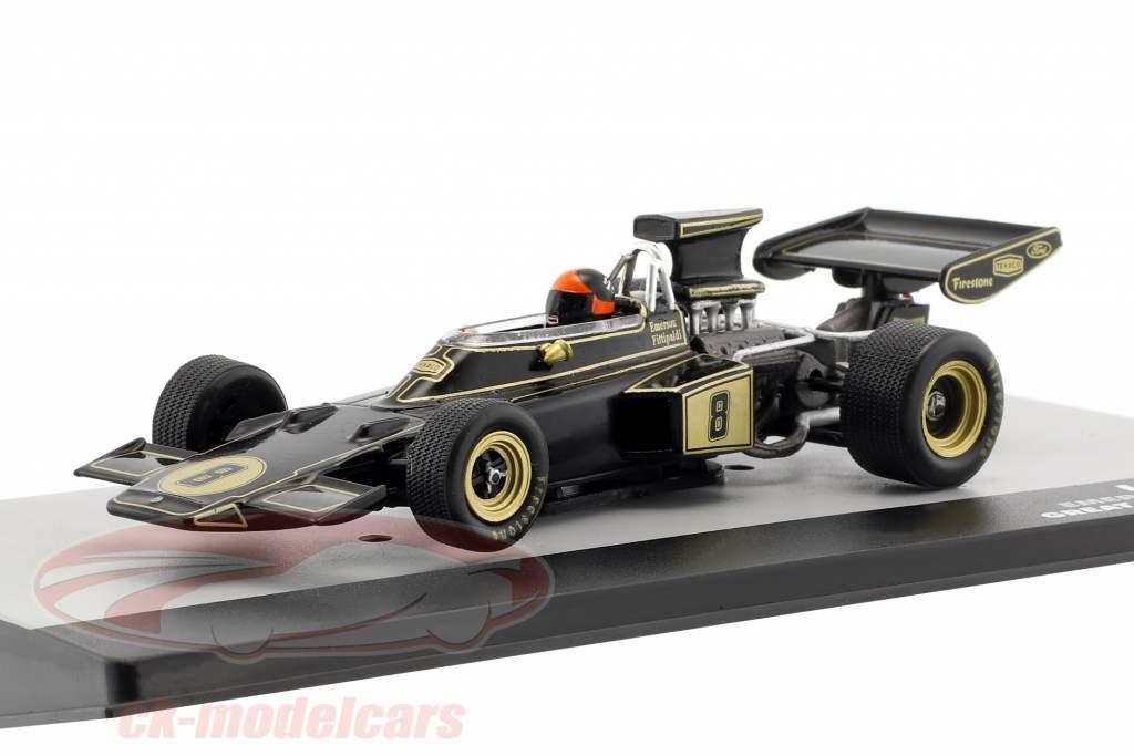E. Fittipaldi Lotus 72D #8 gagnant britannique GP formule 1 1972 1:43 Altaya