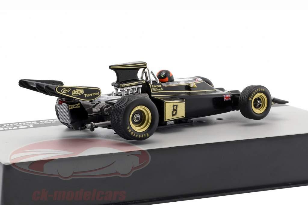 Emerson Fittipaldi Lotus 72D #8 Winner British GP formula 1 1972 1:43 Altaya
