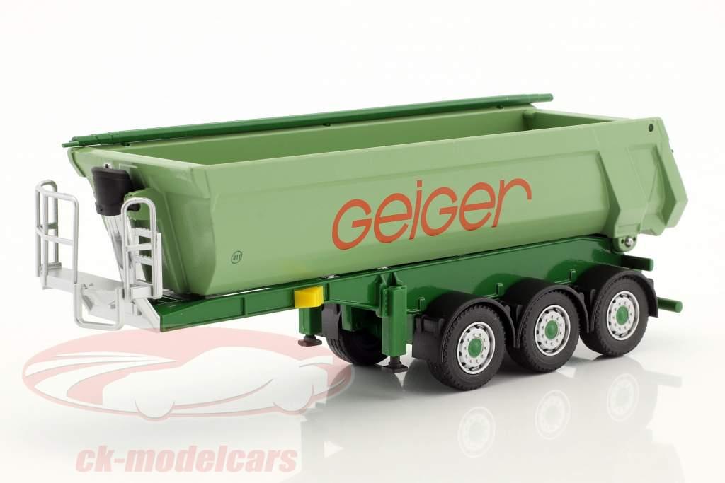 MAN TGS L RuMuSzg lastbil Geiger grøn 1:50 Herpa