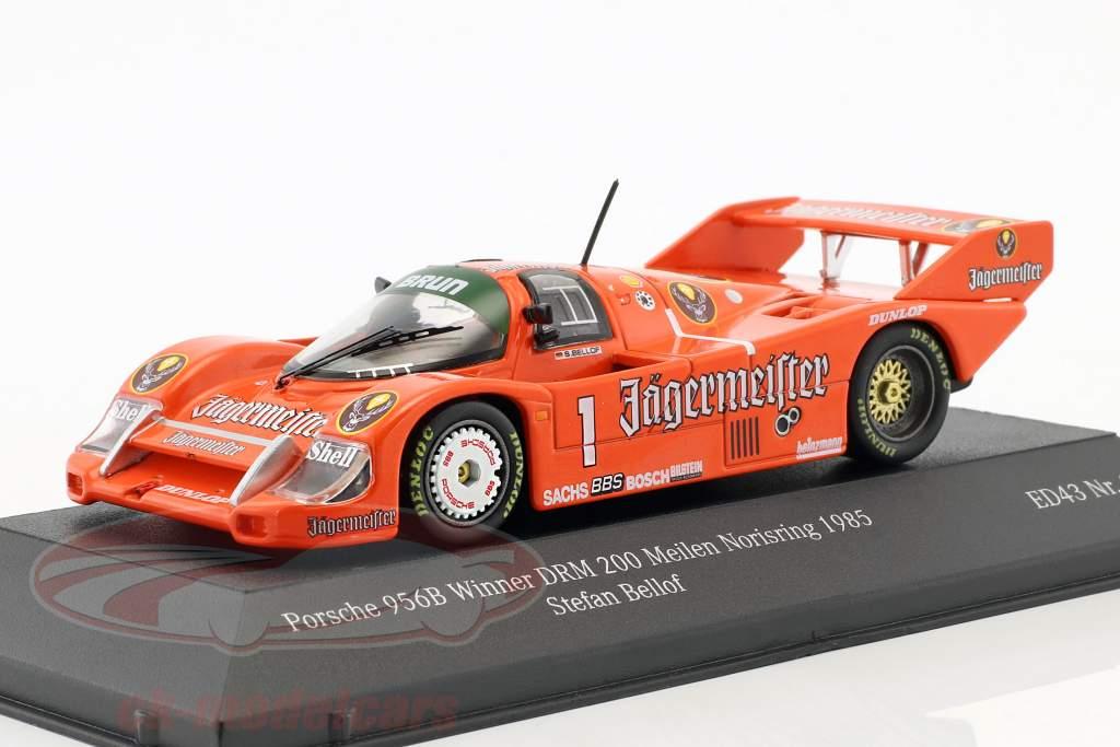 Porsche 956B Brun #1 vincitore DRM 200 miglia Norisring 1985 Stefan Bellof 1:43 CMR