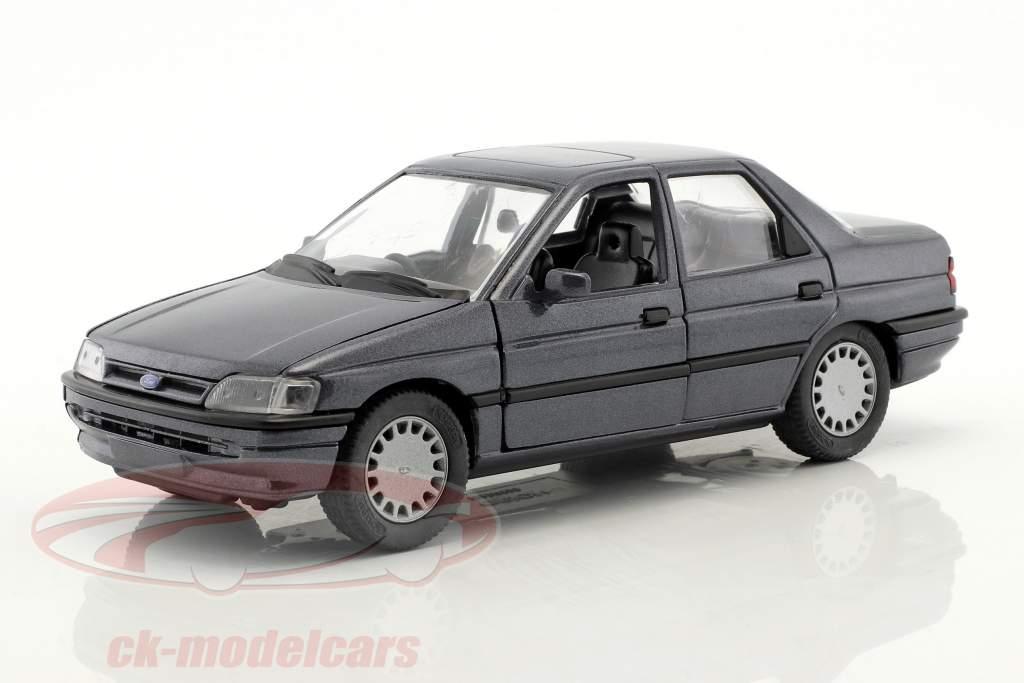 Ford Orion Ghia RHD cinza metálico 1:24 Schabak