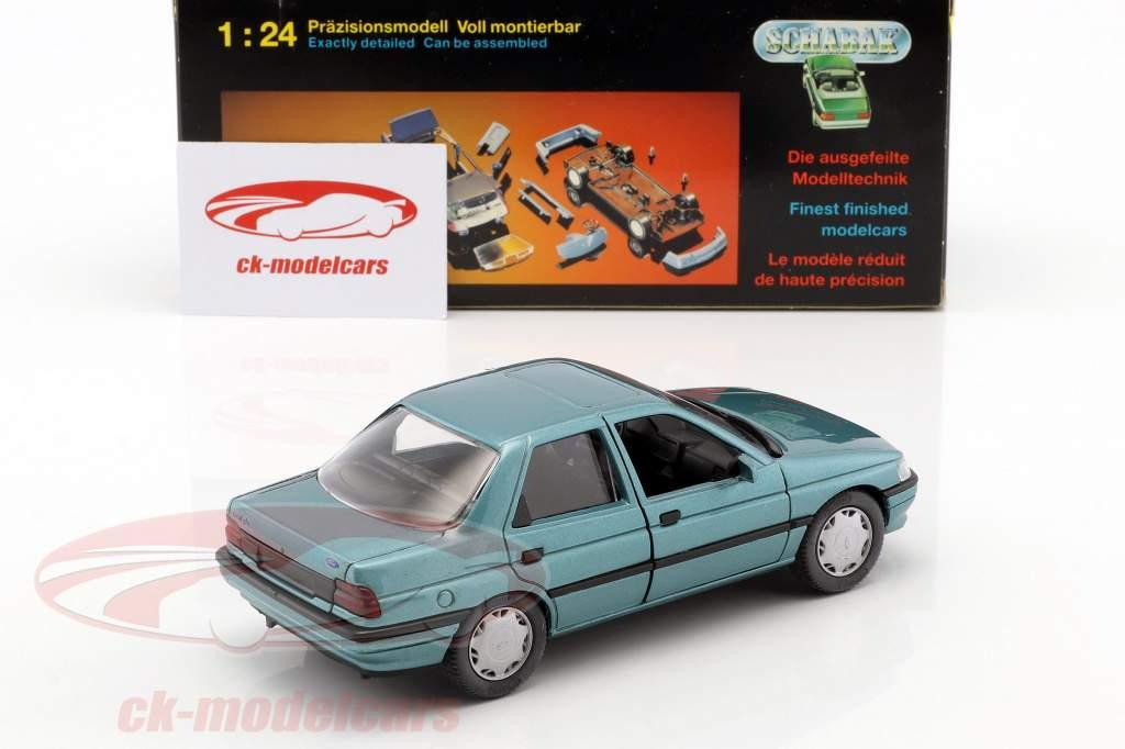 Ford Orion LHD blaugrün metallic 1:24 Schabak