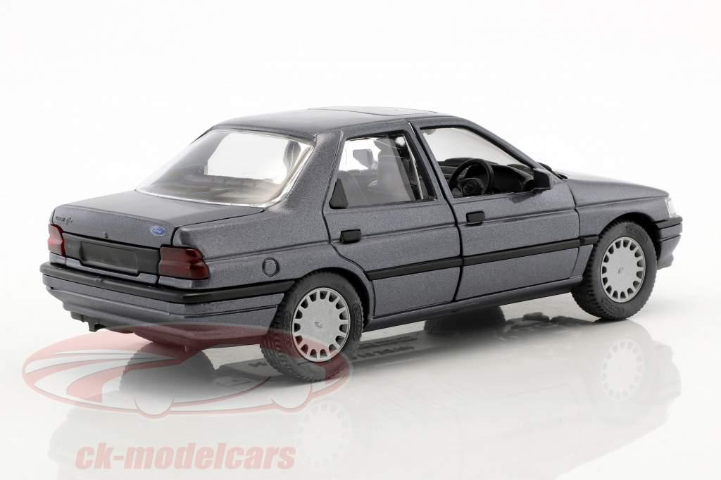 Ford Orion RHD cinza azul metálico 1:24 Schabak