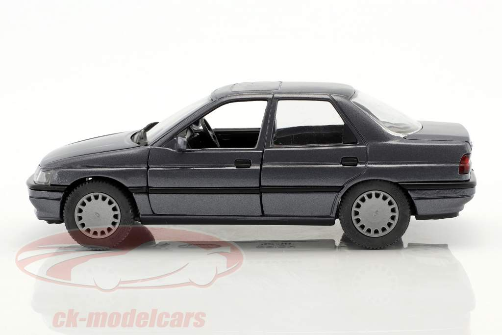 Ford Orion RHD grå blå metallisk 1:24 Schabak
