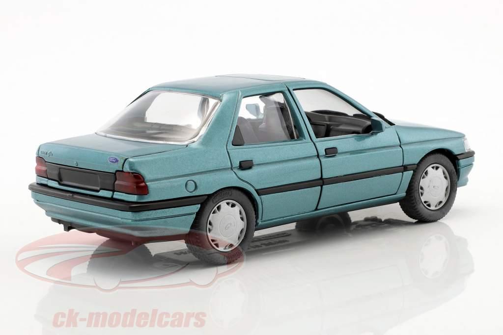 Ford Orion LHD blue green metallic 1:24 Schabak