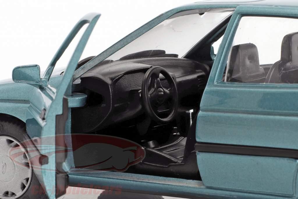 Ford Orion LHD blå grøn metallisk 1:24 Schabak