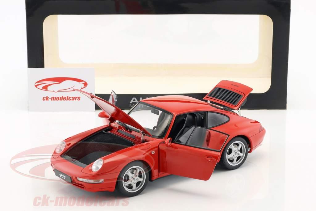 Porsche 911 (993) Carrera Anno 1995 rosso 1:18 AUTOart