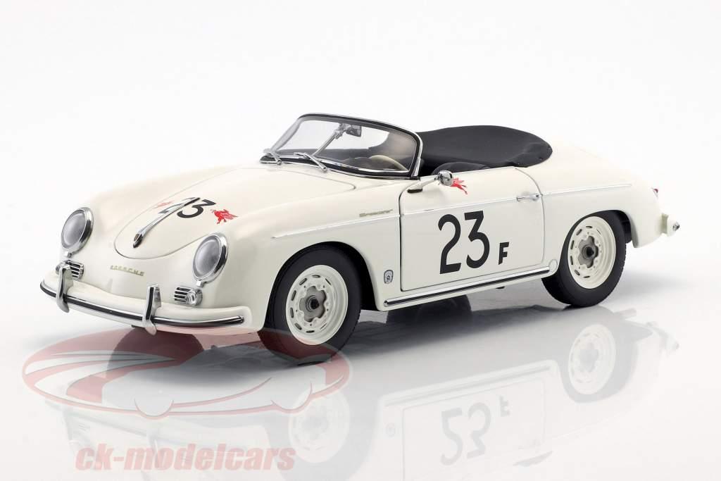 Porsche 356 Speedster #23F white 1:18 AUTOart