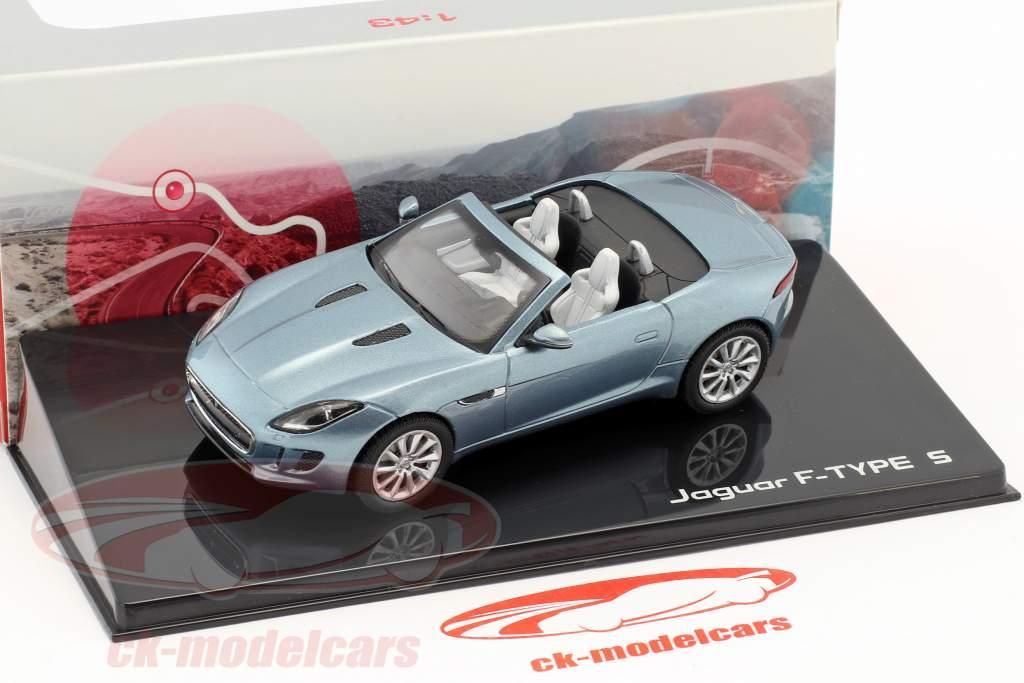 Jaguar F-Type V8-S Cabriolet Baujahr 2013 satellit grau 1:43 Ixo