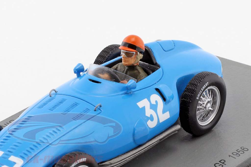 Hernando da Silva Ramos Gordini T32 #32 Frankreich GP Formel 1 1956 1:43 Spark