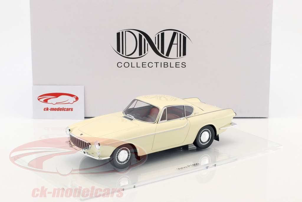 Volvo 1800 Baujahr 1961 creme weiß 1:18 DNA Collectibles