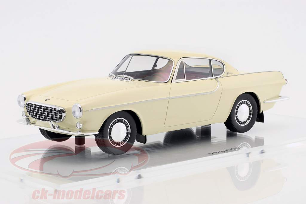 Volvo 1800 bygget i 1961 cremehvid 1:18 DNA Collectibles