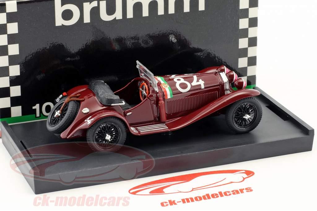 Alfa Romeo 6C 1750 GS #84 Vinder Mille Miglia 1930 Nuvolari, Guidotti 1:43 Brumm