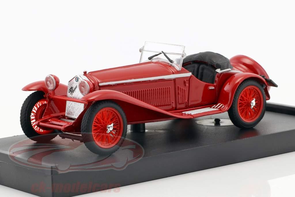 Alfa Romeo 1750 GS Zagato Baujahr 1931 rot 1:43 Brumm