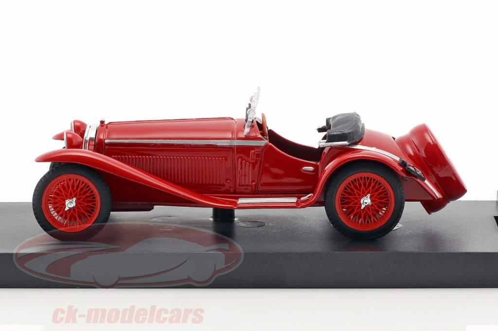 Alfa Romeo 1750 GS Zagato Opførselsår 1931 rød 1:43 Brumm