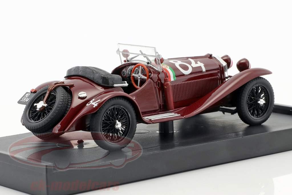 Alfa Romeo 6C 1750 GS #84 Winner Mille Miglia 1930 Nuvolari, Guidotti 1:43 Brumm
