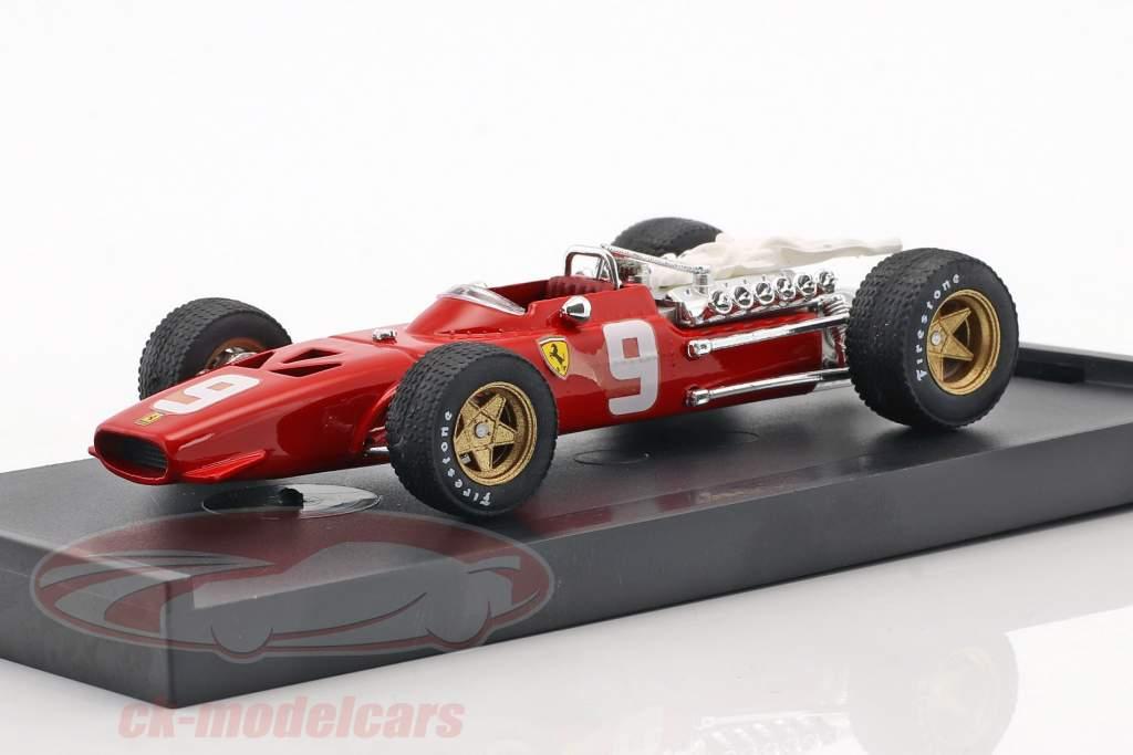 Chris Amon Ferrari 312 F1 #9 6ª Holanda GP fórmula 1 1968 1:43 Brumm