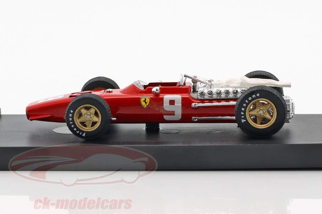 Chris Amon Ferrari 312 F1 #9 6th Netherlands GP formula 1 1968 1:43 Brumm
