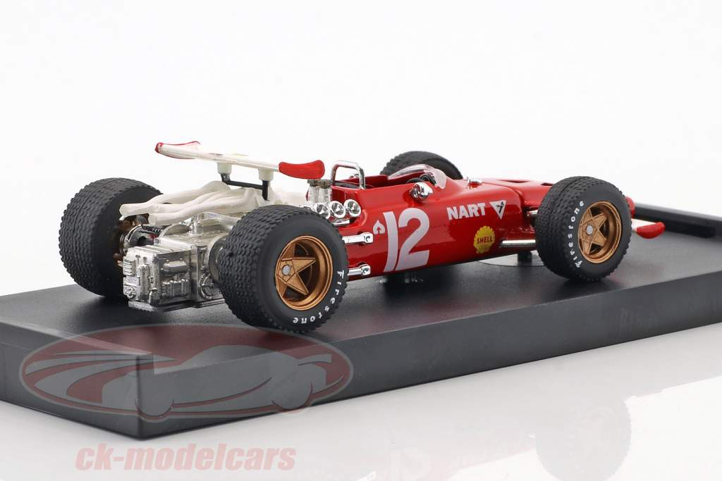 Pedro Rodriguez Ferrari 312 F1 #12 Mexican GP formula 1 1969 1:43 Brumm
