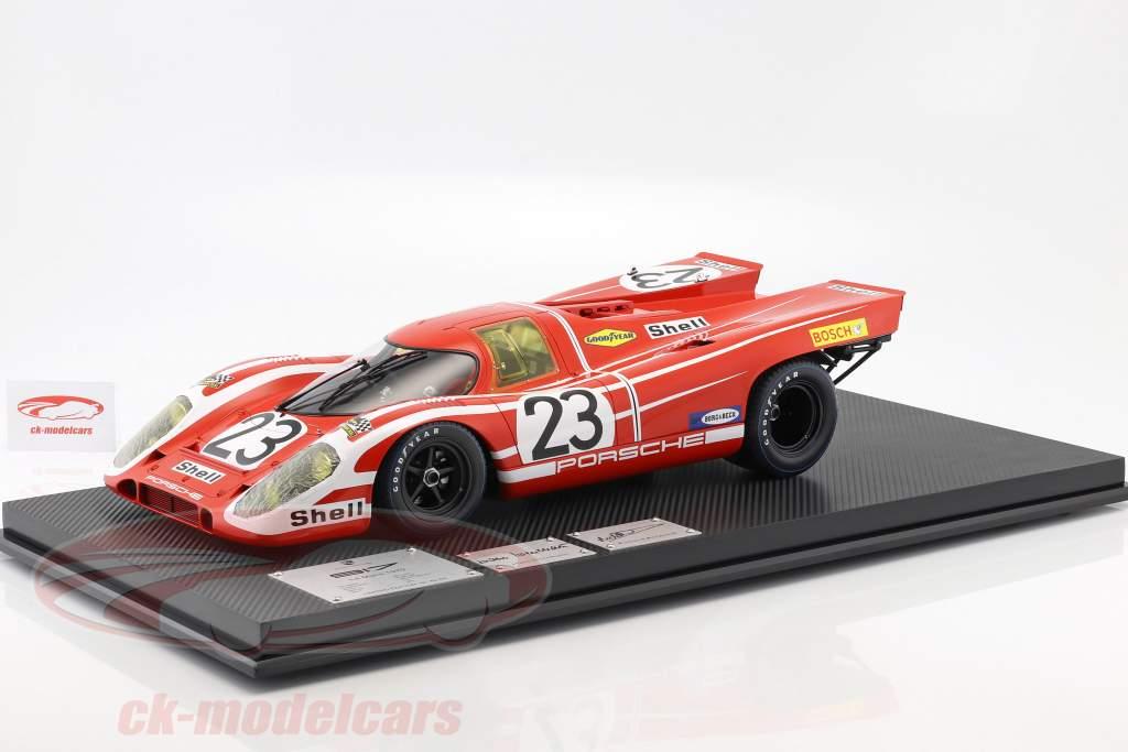 Porsche 917K #23 Vinder 24h LeMans 1970 Attwood, Herrmann 1:8 Amalgam