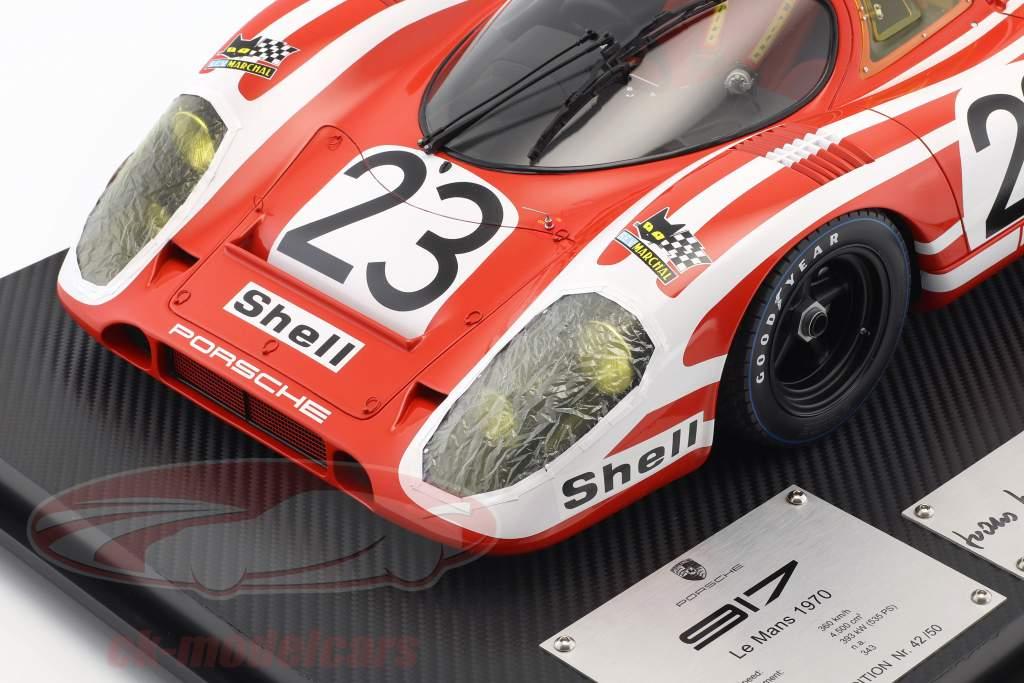 Porsche 917K #23 vencedor 24h LeMans 1970 Attwood, Herrmann 1:8 Amalgam