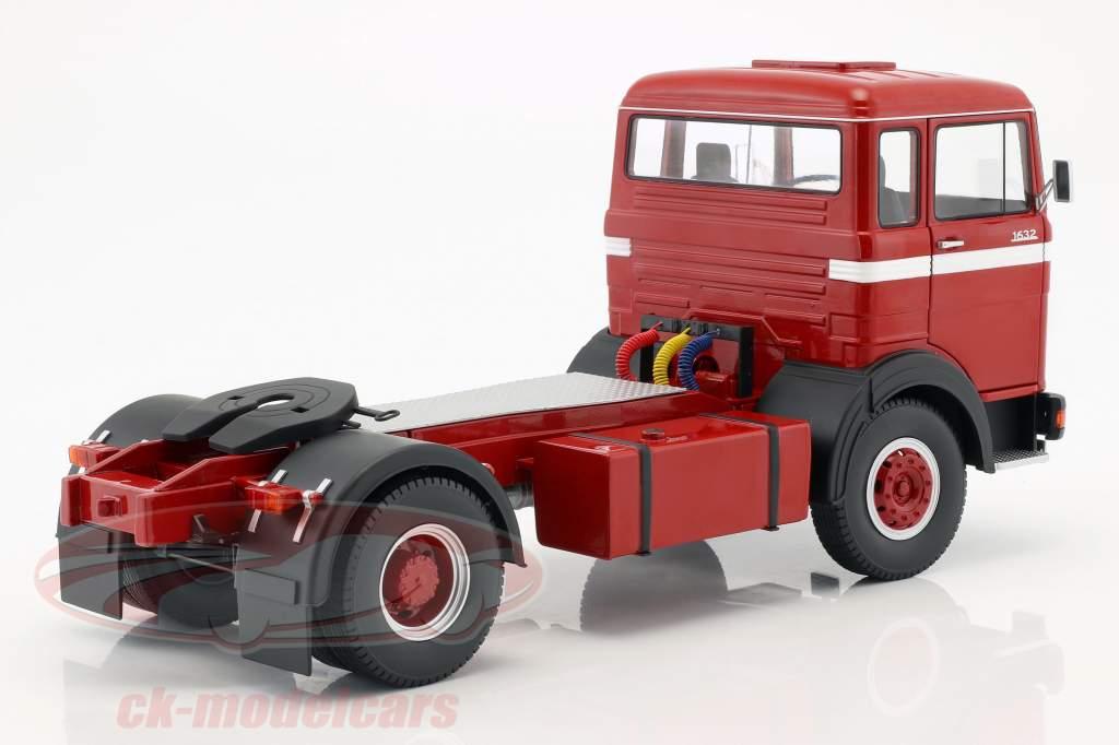 Mercedes-Benz LPS 1632 trattore anno di costruzione 1969 rosso / bianco 1:18 Road Kings