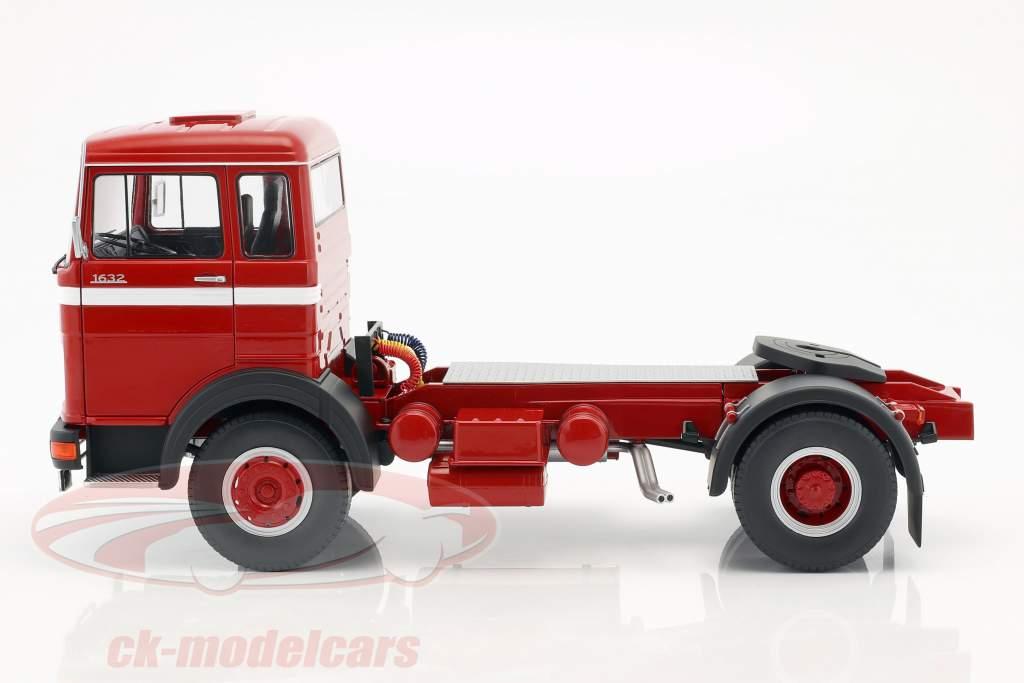 Mercedes-Benz LPS 1632 trator ano de construção 1969 vermelho / branco 1:18 Road Kings