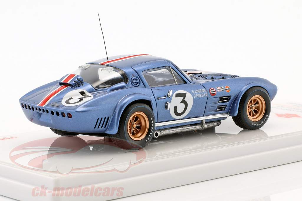 Chevrolet Corvette Grand Sport #3 12h Sebring 1964 Johnson, Morgan 1:43 TrueScale
