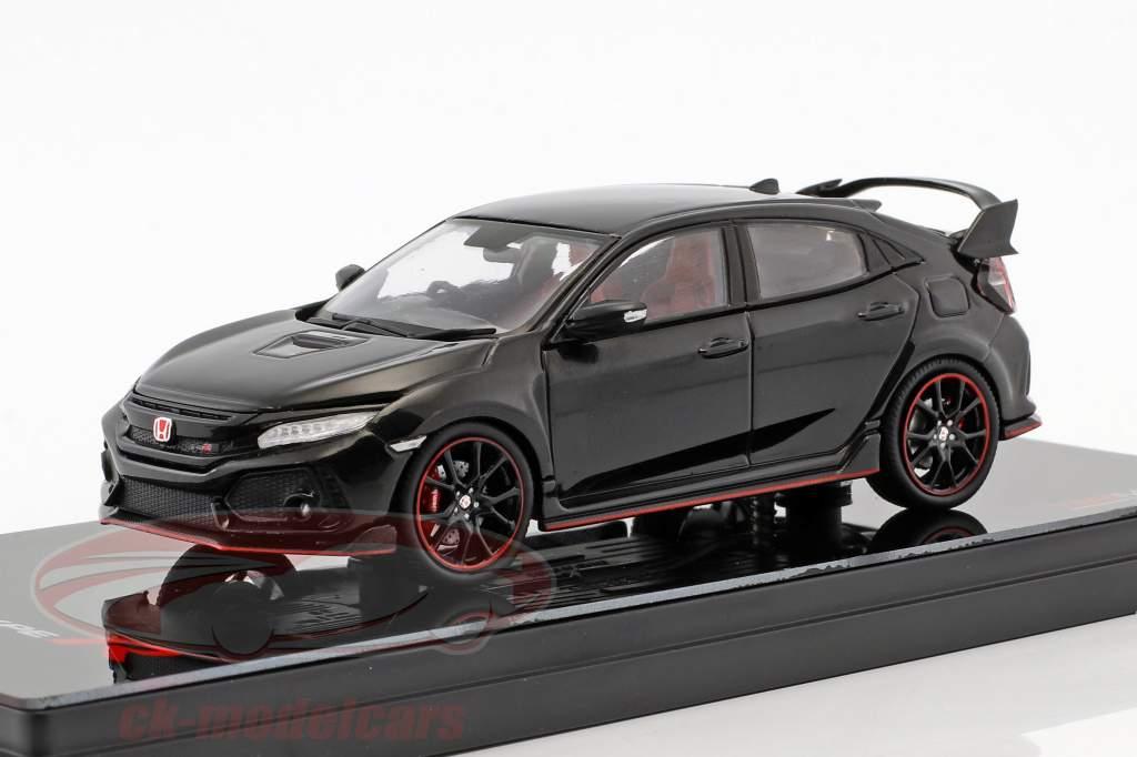 Honda Civic type R RHD année de construction 2017 crystal black pearl 1:43 TrueScale